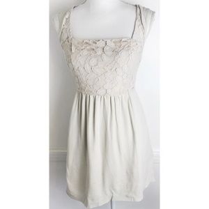 Cooperative • Lace Cream Dress